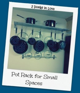 My Pretty Pot Rack