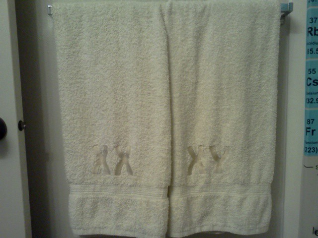 Chromosome Bath Towels