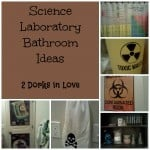 She Blinded Me With Science Laboratory Bathroom Accessories