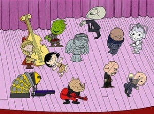 A fun mashup of Doctor Who and Peanuts Image by  Wild Guru Larry via Flickr CC
