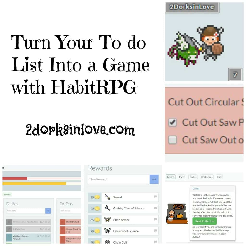 Turn Your To-Do List Into a Game With HabitRPG