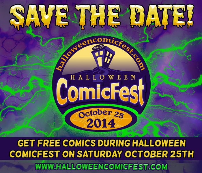 Halloween ComicFest 2014 is on October 25th this year