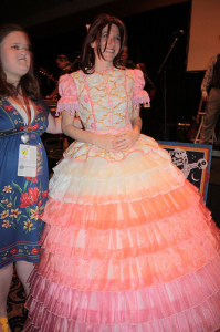 I read that she (Jewel Staite) loved this dress....until she had to use the restroom.  Photo by Andrew Kalat via Flickr CC Attribution-NoDerivatives