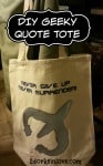 Make This Easy Geeky Quote Tote Bag