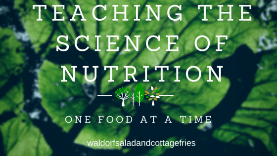 Learning about the science of nutrition
