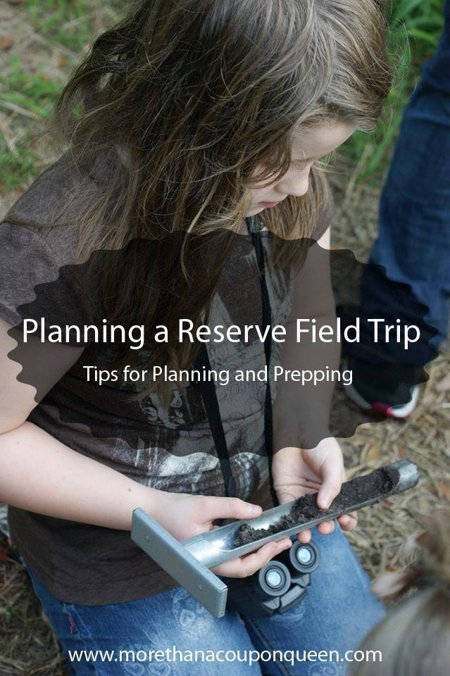 Learn how to plan a reserve field trip
