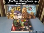 Star Wars Board Books #MaytheFourth Giveaway