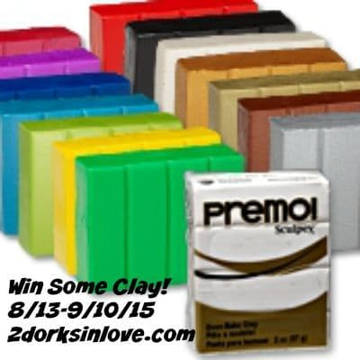 Enter to win a set of Premo! Sculpey clay