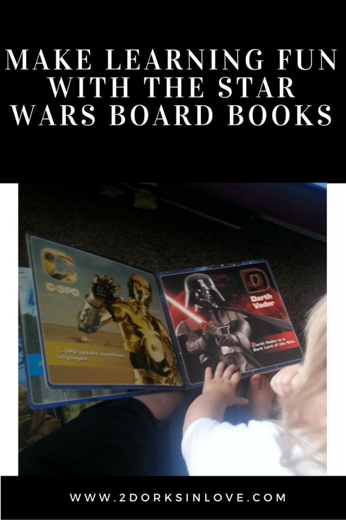 Has star wars board books