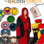Win Marvel Prizes in the February Golden Snitch Giveaway!