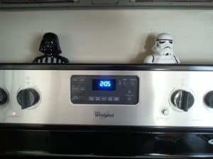 Star Wars Kitchen Ideas - Darth Vader and Stormtrooper Salt & Pepper Shakers