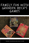 Family Fun with Grandpa Beck's Games