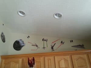 Star Wars Kitchen Ideas - Star Wars Wall Decals