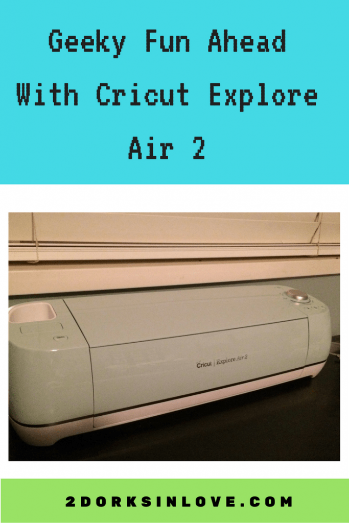 You can do all sorts of fun crafts using the Cricut Explore Air 2, including geeky ones!