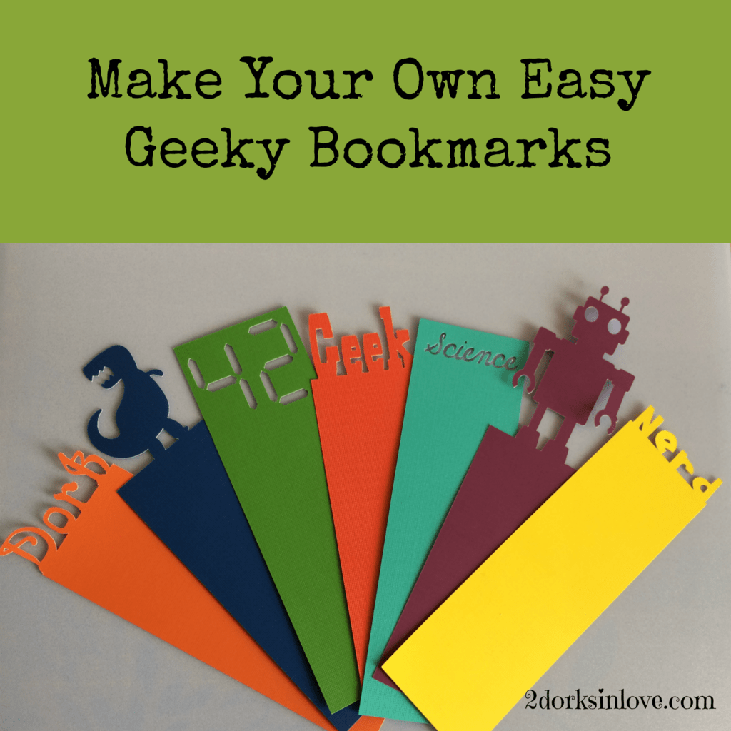 Bookworms will love these easy geeky bookmarks