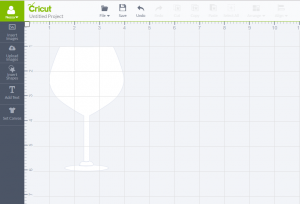 Goblet option in Cricut Design Space