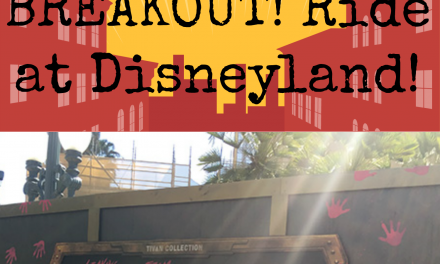 Visit the New Guardians of the Galaxy Mission: BREAKOUT! Ride at Disneyland!
