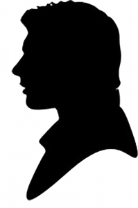 Silhouette of Han from Star Wars