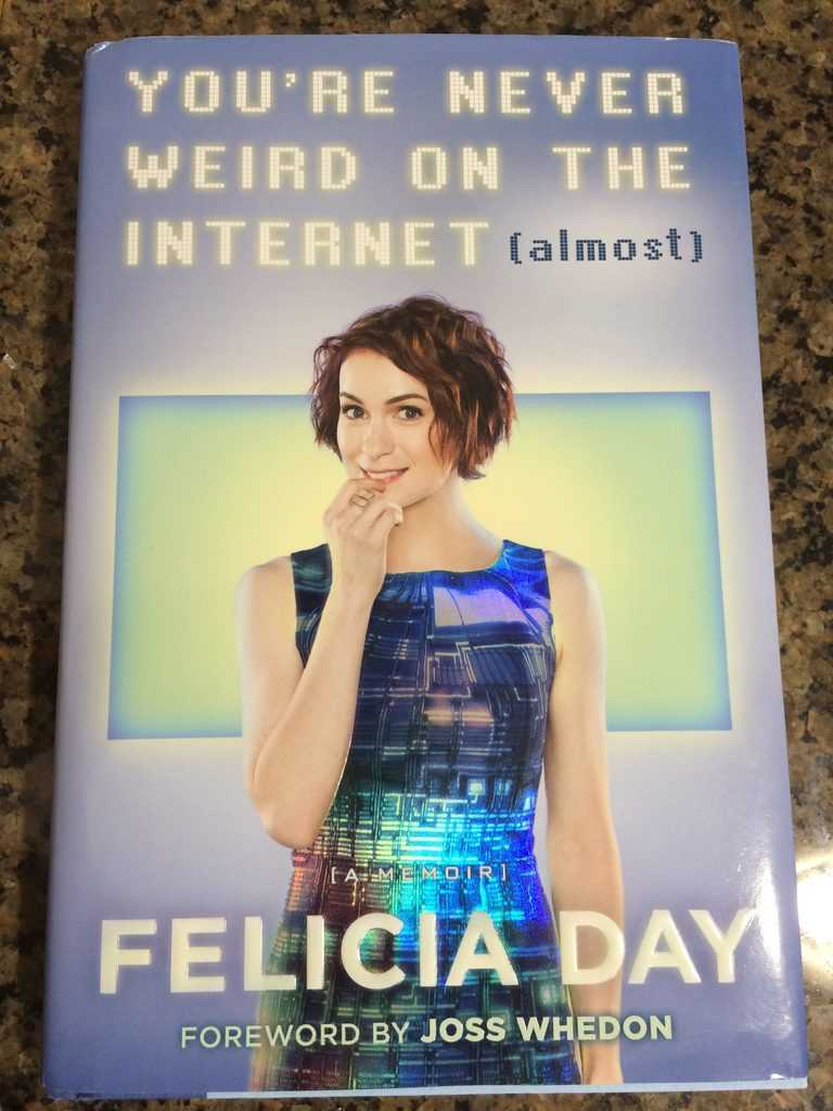 Felicia Day's book is AWESOME