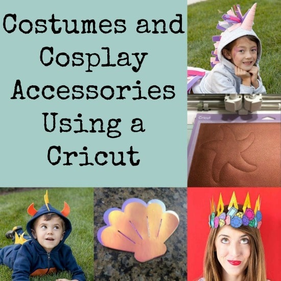 You can make all sorts of cosplay accessories using a Cricut