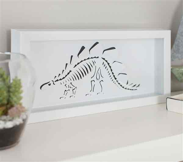 Create your own dinosaur wall art