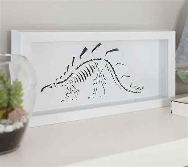 Create your own dinosaur wall art