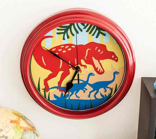 It's dino time with this T-Rex clock