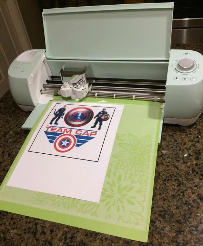 Use your Cricut to cut out the decals