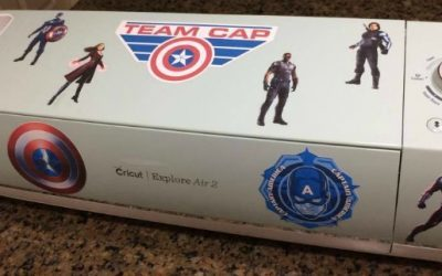 Make Your Own Marvel Decals with a Cricut
