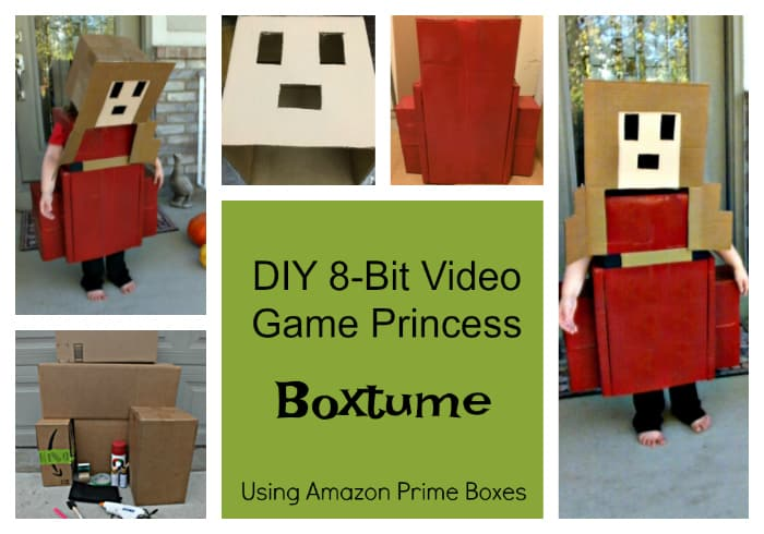 DIY 8-Bit Video Game Princess Boxtume