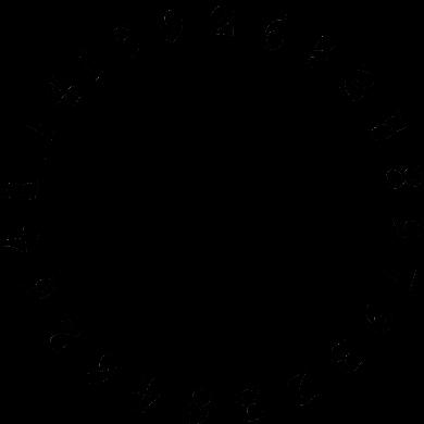 Pi numbers circle