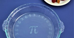 Make This Pi Pie Plate for Pi Day