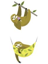 Cricut Iron-on Design Sloth Nap