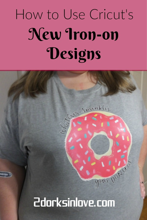 How to Use Cricut's New Iron-on Designs with an EasyPress #CricutMade #Cricut #Ironon #DIY