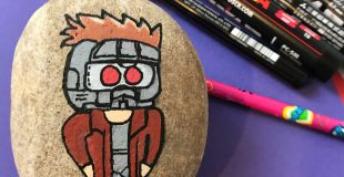 This Star-Lord Rock Painting Tutorial Will Help You Get Ready for Avengers:Infinity War